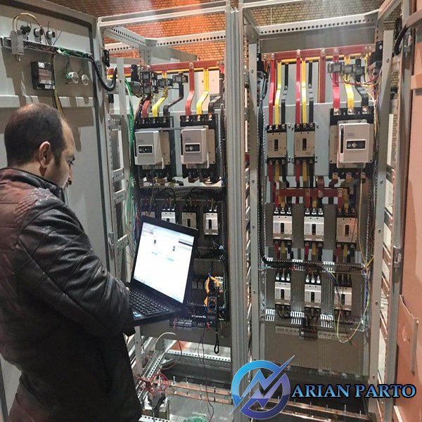 ساخت تابلو برق PLC